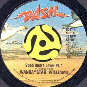 """画像1: WANDA """"STAR"""" WILLIAMS / SOAP OPERA LOVER (45's) (1)"""