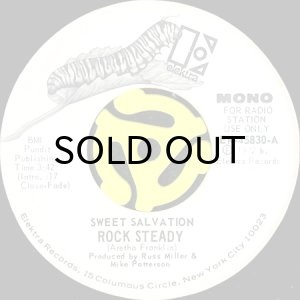 画像1: SWEET SALVATION / ROCK STEADY (45's) (WHITE PROMO) (1)
