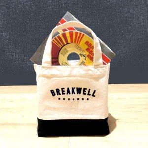 画像1: BREAKWELL RECORDS オリジナル・トートバッグ (S) (1)