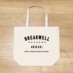 画像1: BREAKWELL RECORDS オリジナル・トートバッグ (L) (1)