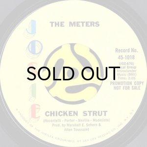 画像1: THE METERS / CHICKEN STRUT (45's) (PROMO) (1)