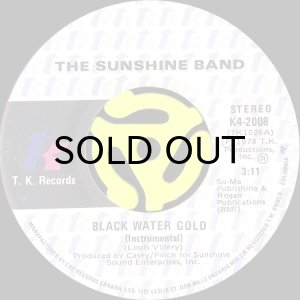 画像1: THE SUNSHINE BAND / BLACK WATER GOLD (45's) (1)