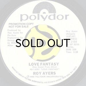 画像1: ROY AYERS feat. SYLVIA STRIPLIN / LOVE FANTASY (45's) (WHITE PROMO) (1)