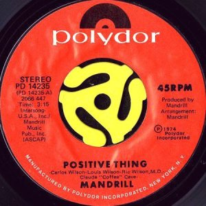 画像1: MANDRILL / POSITIVE THING (45's) (1)