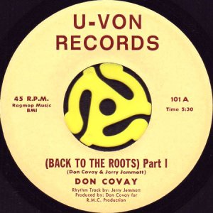 画像1: DON COVAY / BACK TO THE ROOTS (45's) (1)