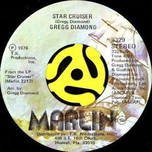 画像1: GREGG DIAMOND / STAR CRUISER b/w THIS SIDE OF MIDNIGHT (45's) (VINYL PRESS) (1)