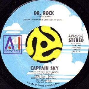 画像1: CAPTAIN SKY / DR. ROCK b/w SATURDAY NIGHT MOVE-EASE (45's) (1)