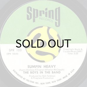 画像1: THE BOYS IN THE BAND / SUMPIN HEAVY (45's) (1)