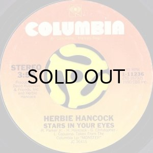 画像1: HERBIE HANCOCK / STARS IN YOUR EYES (45's) (1)
