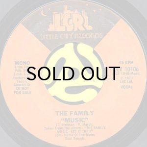 画像1: THE FAMILY / MUSIC (45's) (PROMO) (1)