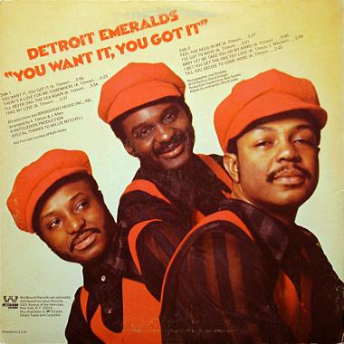 detroit emeralds you want it you got it breakwell records