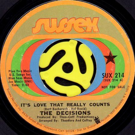 the decisions it s love that really counts 45 s breakwell records