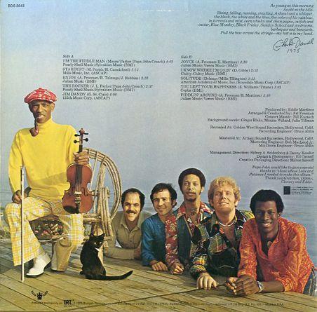 Papa John Creach Amp The Midnight Sun I M The Fiddle Man