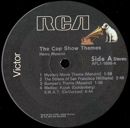 henry mancini the cop show themes breakwell records