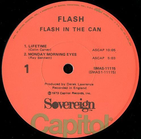 flash flash in the can breakwell records