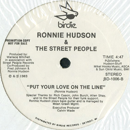 ronnie hudson and the street people put your love on the line