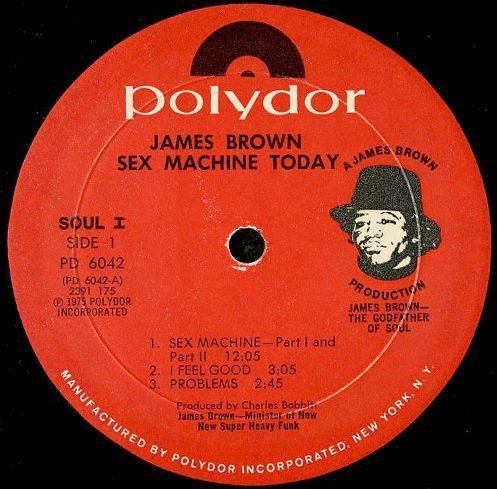 james brown sex machine today in Fredericton