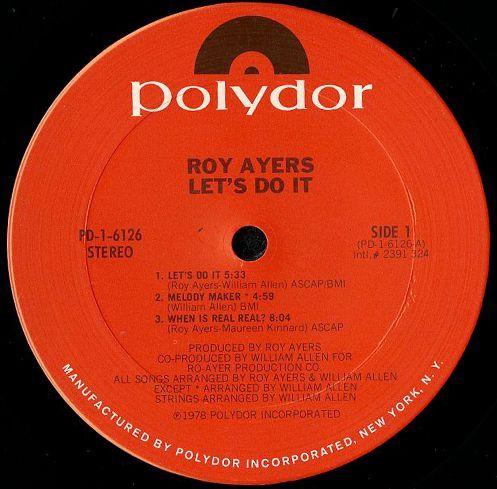 ROY AYERS / ロイ・エアーズ商品一覧 ...