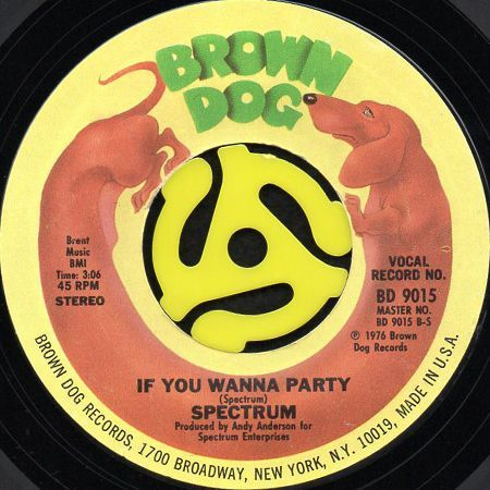 spectrum let s fall in love b w if you wanna party 45 s