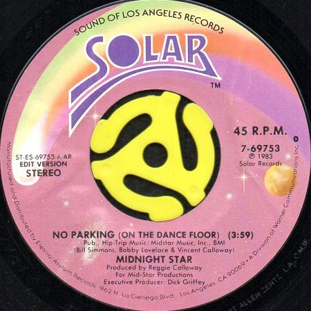 NO PARKING (ON THE DANCEFLOOR) (45's