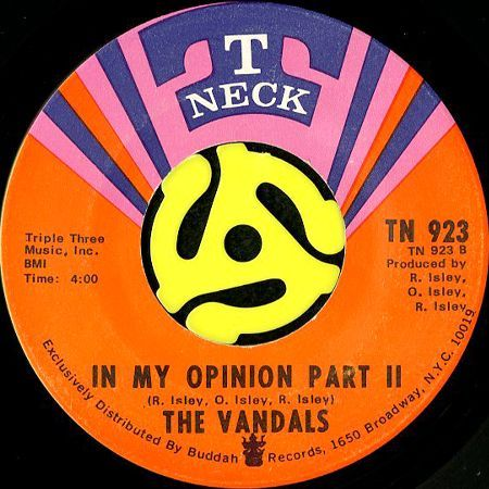 THE VANDALS / IN MY OPINION (45's) - Breakwell Records